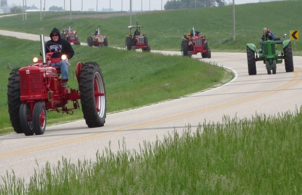 KICD Antique Tractor Ride